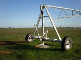 What are the uses of Center Pivot irrigation?