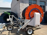 What are the components of Hose Reel Irrigation Machines?