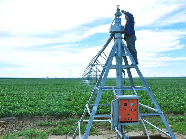 Center-pivot irrigation